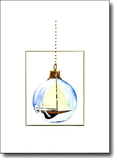 Ornament with Boat image