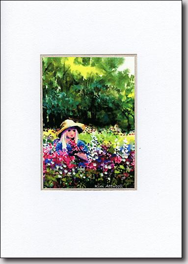 Picking Flowers image