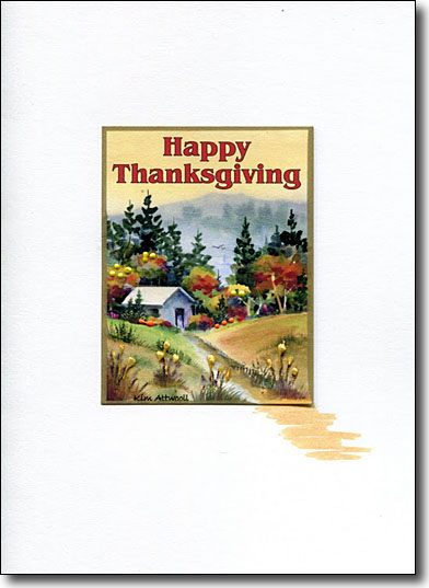 Quilter's Cottage Happy Thanksgiving