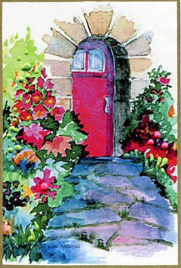 red door image