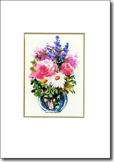 Roses and Lavender image