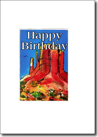 Sedona Happy Birthday image