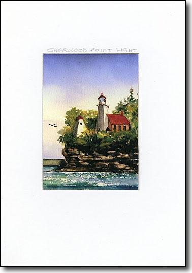 Sherwood Point Lighthouse image