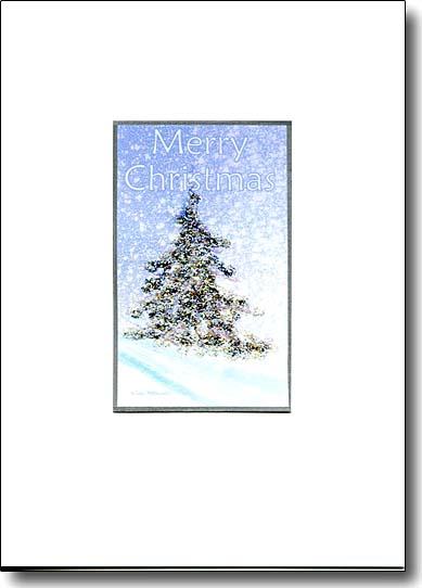 Sparkle Tree Merry Christmas image