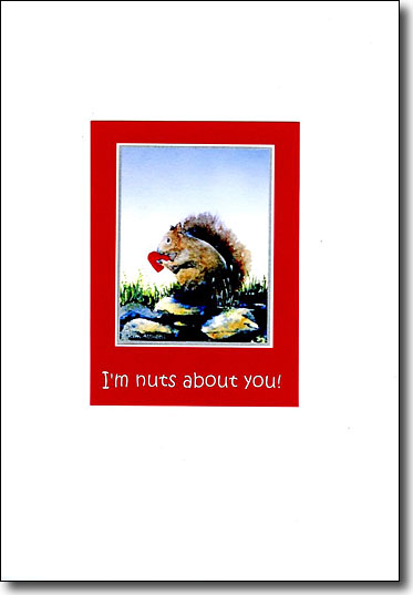 Squirrel I'm Nuts About You image