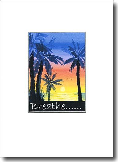 Sunset Palms - Breathe image