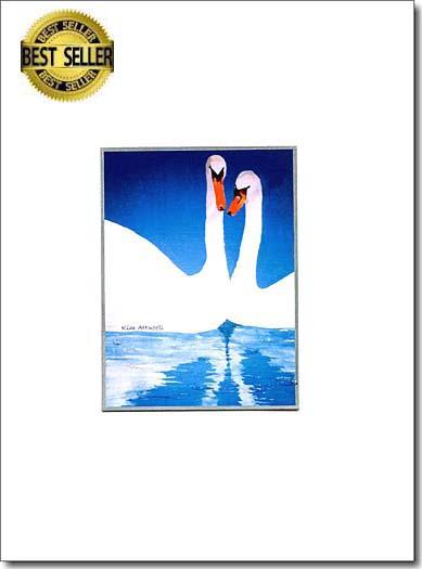 Pair of Swans image