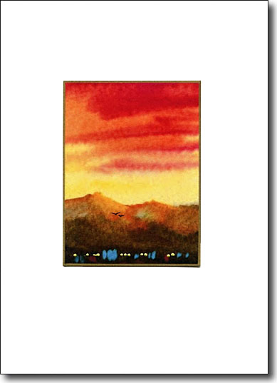 Taos Sunrise image