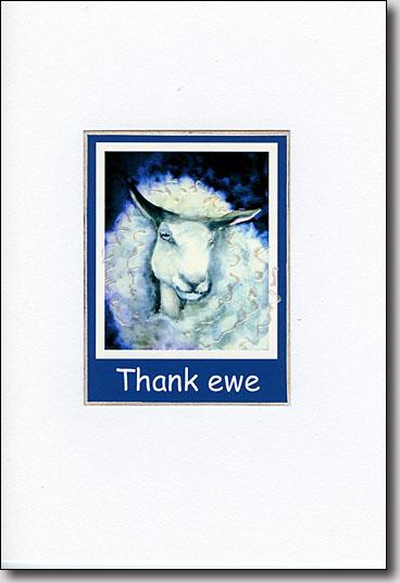 Thank Ewe image