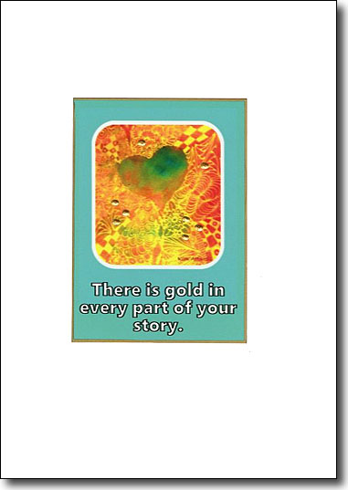 There is Gold in Every Part of Your Story image