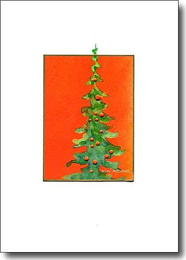 Tree on Orange image