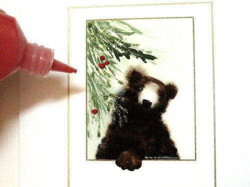fabric paint, handmade card making