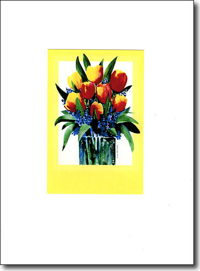 Tulips in Yellow image
