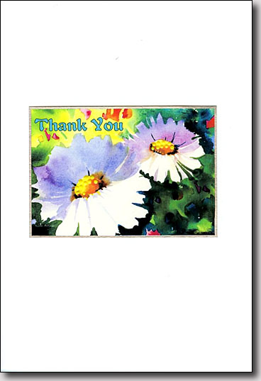Two Daisies Thank You image