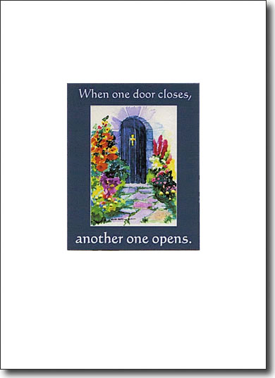 blue door image