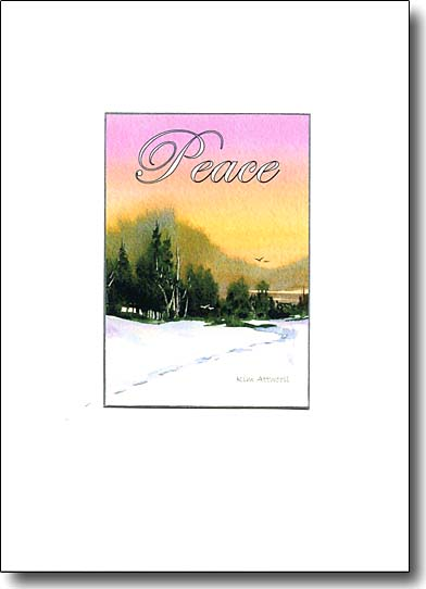 Winter Sunset Peace image