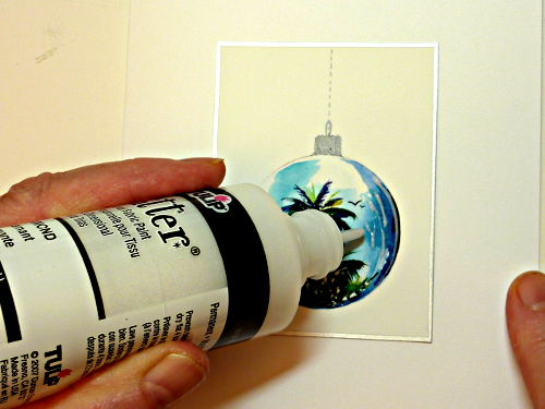 fabric paint, card making supplies