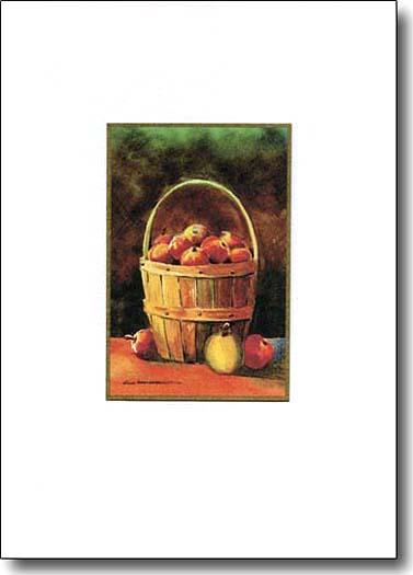 Basket of Apples image