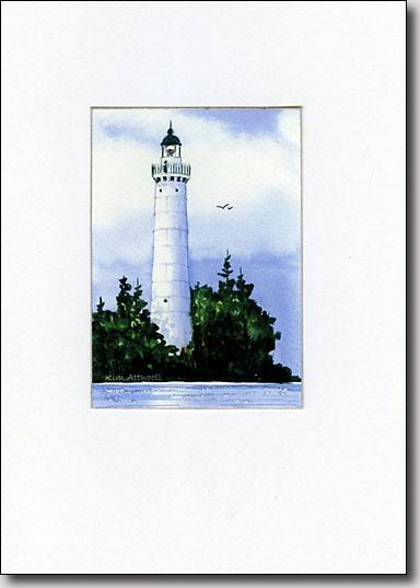 Cana Island Lighthouse image