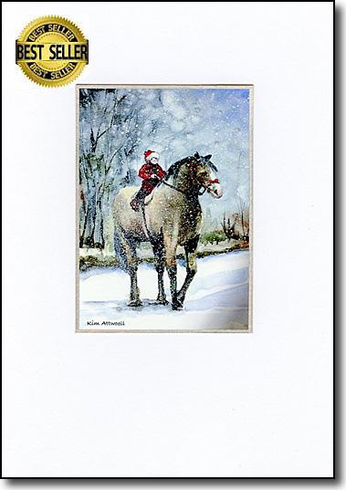 Child on Horse image
