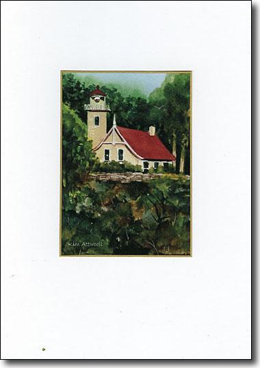 Eagle Bluff Lighthouse image