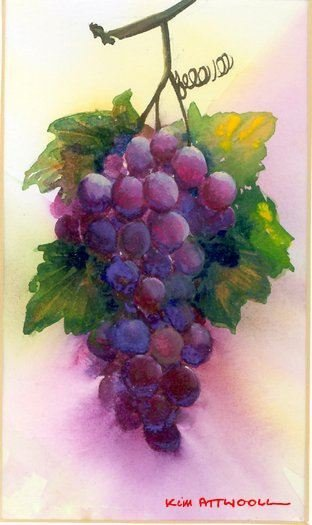 bunch of grapes image