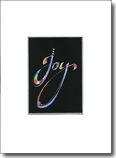 Joy Calligraphy imag