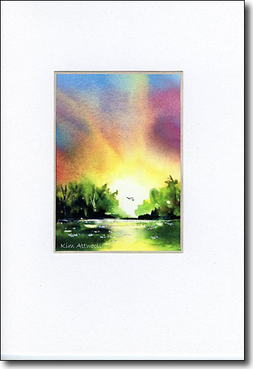 River Dawn image