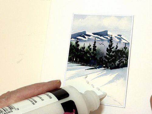 custom greeting cards, embellishing cards