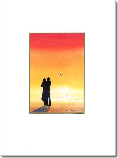Sunset Couple image