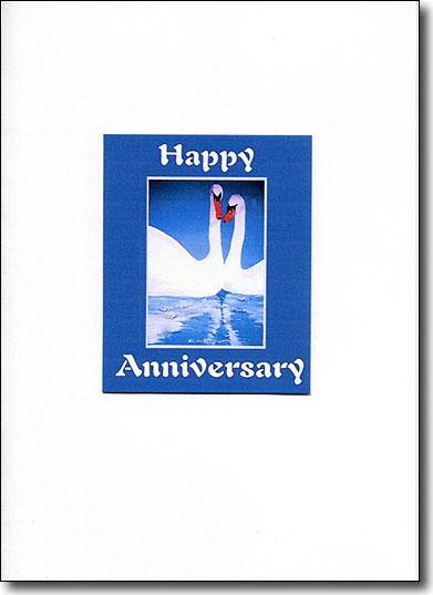 Swans Happy Anniversary image