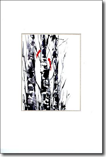 Three Trees, Two Birds image